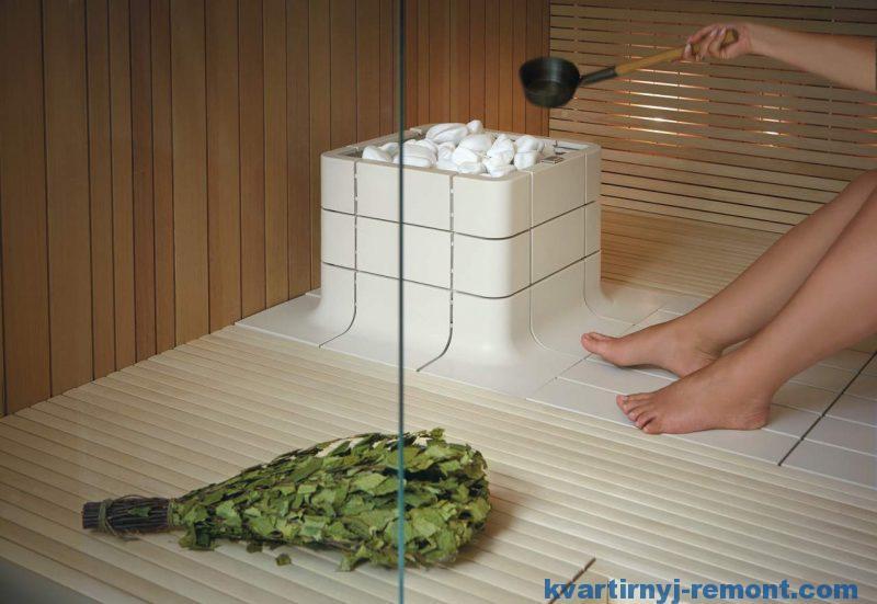 Модель Sauna от Tulikivi