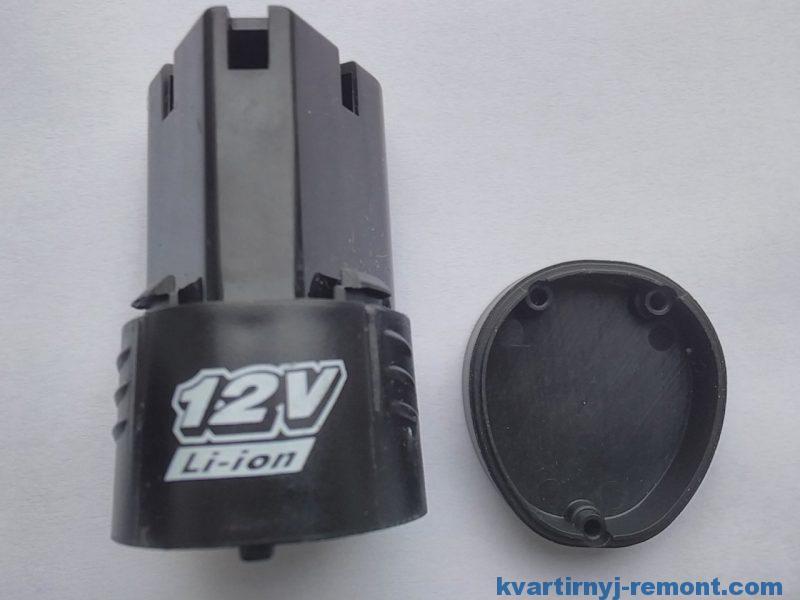 Корпус для аккумуляторов шуруповерта 3S 12V / 4S 16.8V li-ion