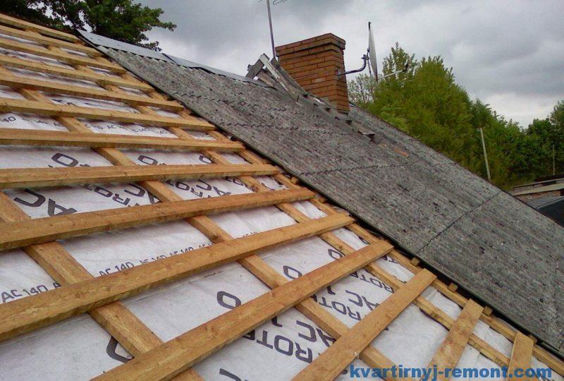 Обрешетка для крыши