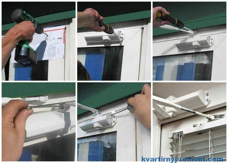 Самостоятельно установить доводчик на дверь