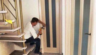 установить межкомнатные двери своими руками