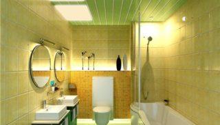 Потолок пластиковыми панелями - своими руками