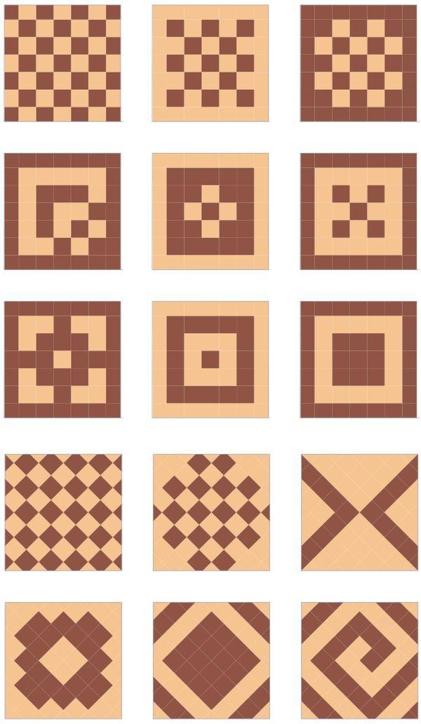 Дизайн укладки плитки на пол