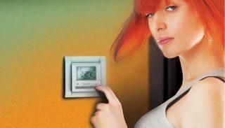 Выбор терморегулятора для теплого пола