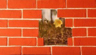Декорирование стен «под кирпич»: фото - инструкция