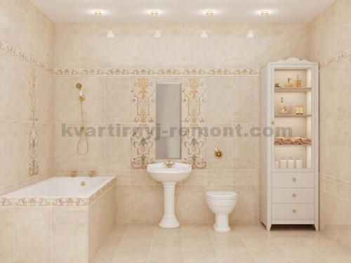Ванные комнаты в пастельных тонах - 10 идей