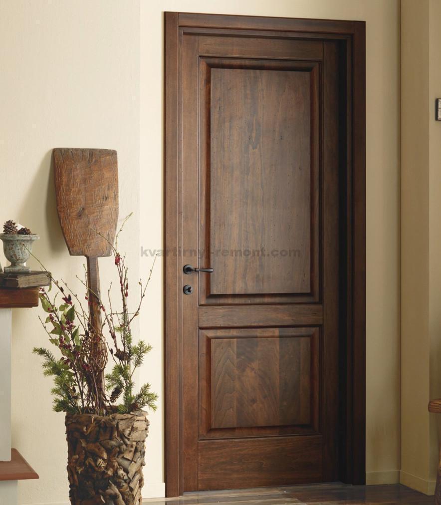 Как сделать деревянную входную дверь своими руками