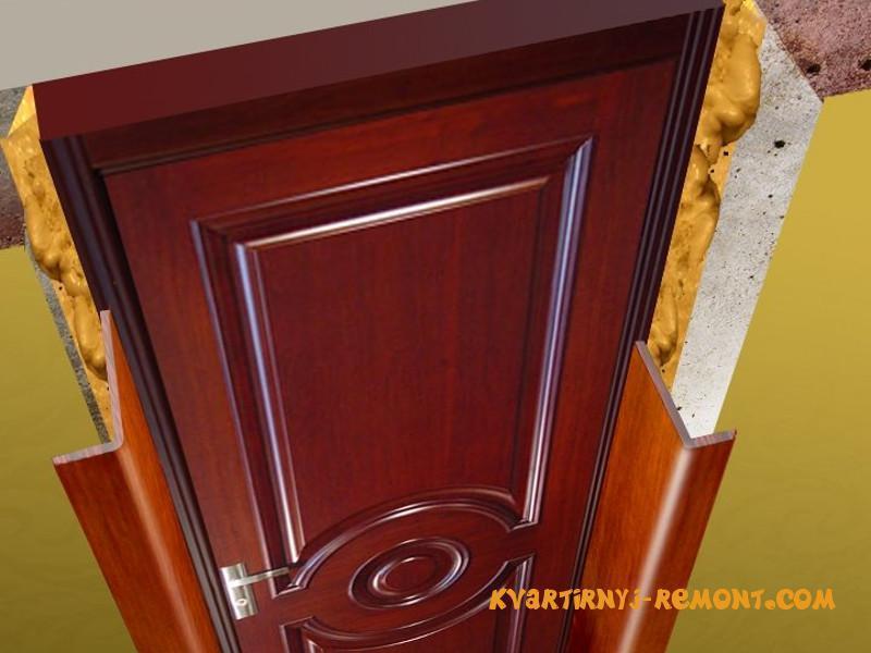 Стандартные проемы и размеры входных дверей