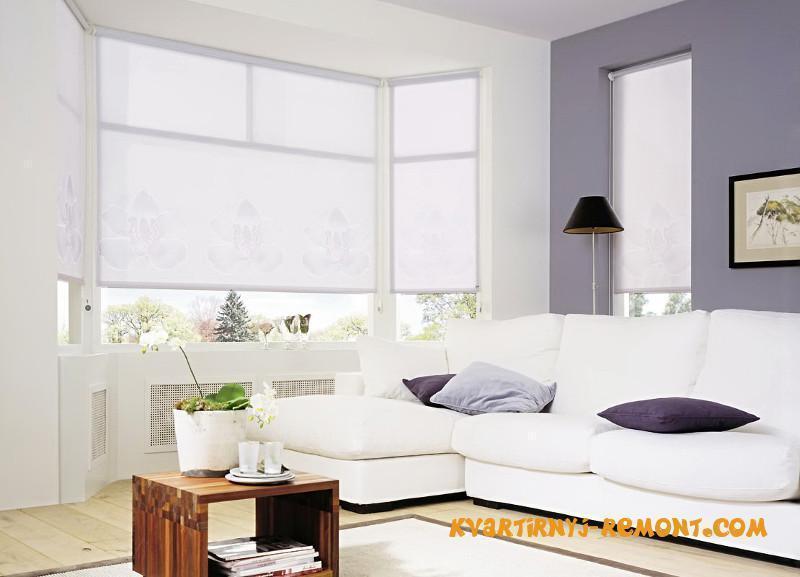 Какие выбрать рулонные жалюзи на пластиковые окна?