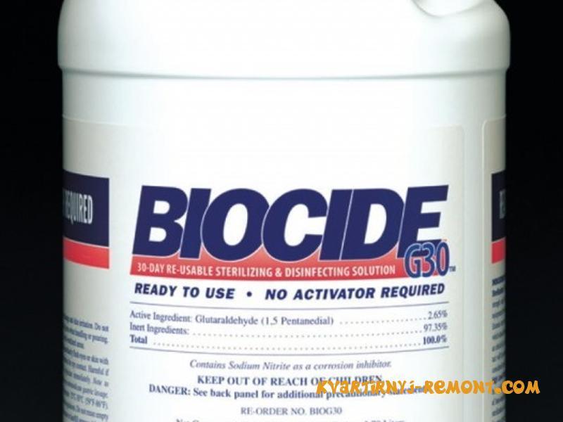 Импортные биоциды для обработки древесины