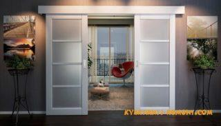 Раздвижные двери в интерьере