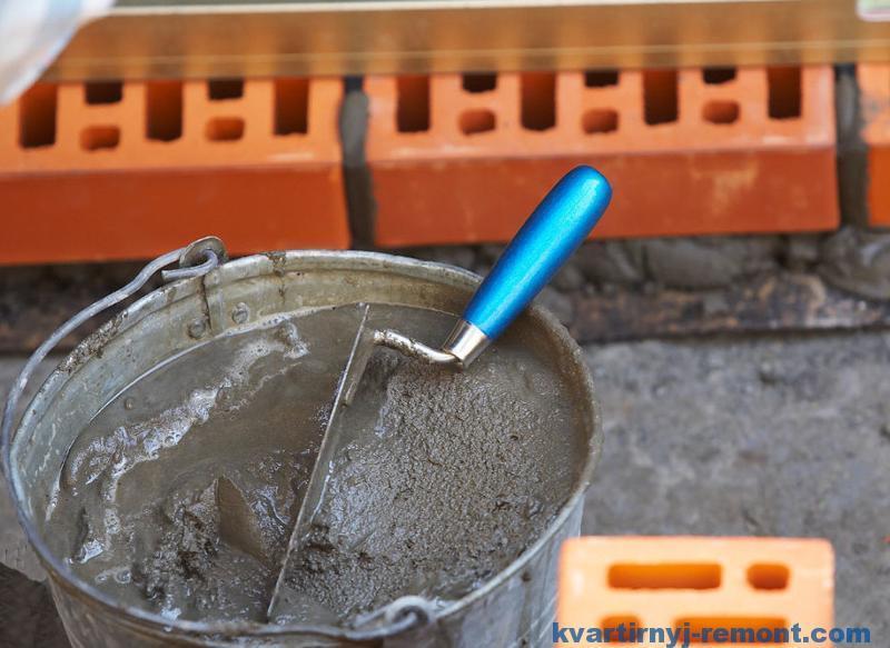 Цементный раствор для кладки цена вес 1 м куб раствора цементного