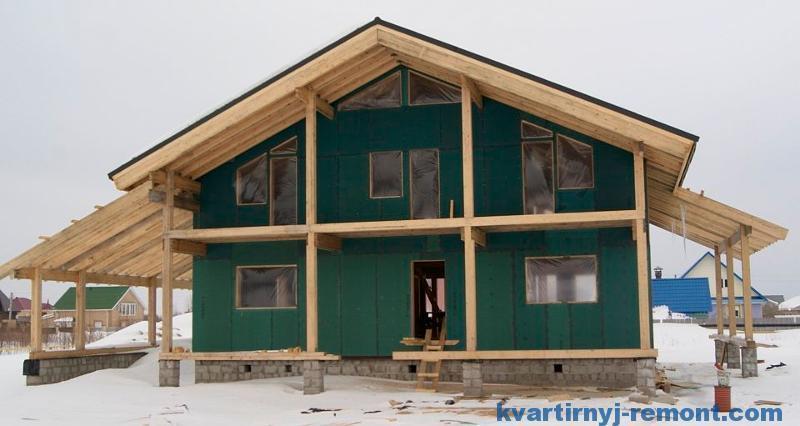 Дом утеплененный Изоплат