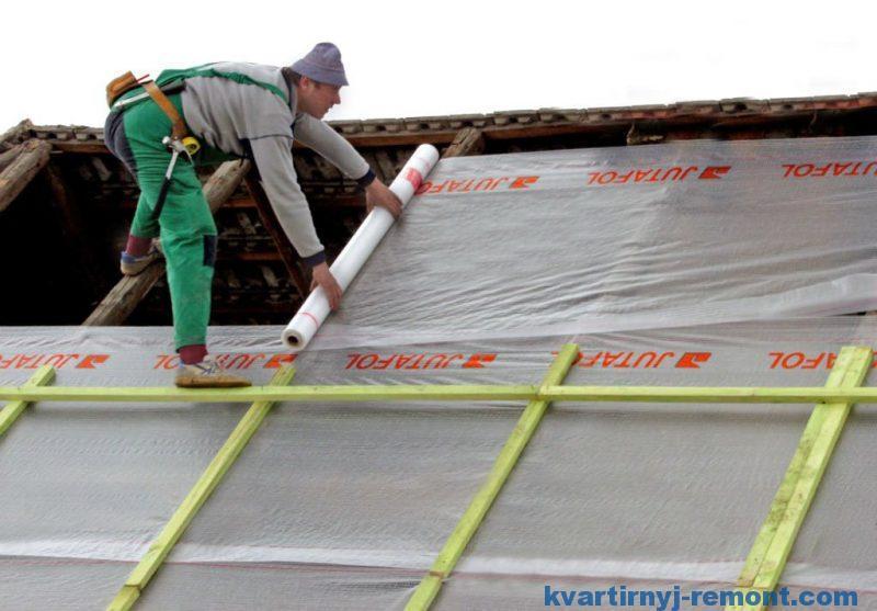 Гидроизоляционные пленки для кровли крыши