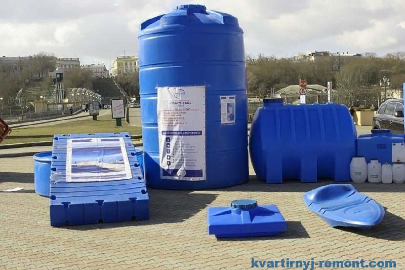 Септики пластиковые для канализации дома