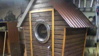 Дачный туалет своими руками за 7500 руб.