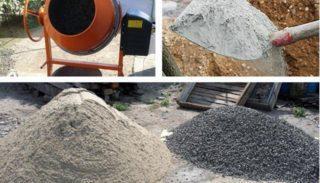 Пропорции бетона: как правильно замесить