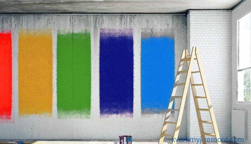 Правильный выбор краски по бетону