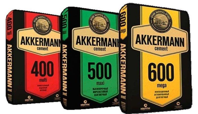 Цемент AKKERMAN 500 maxi (тара 50кг)