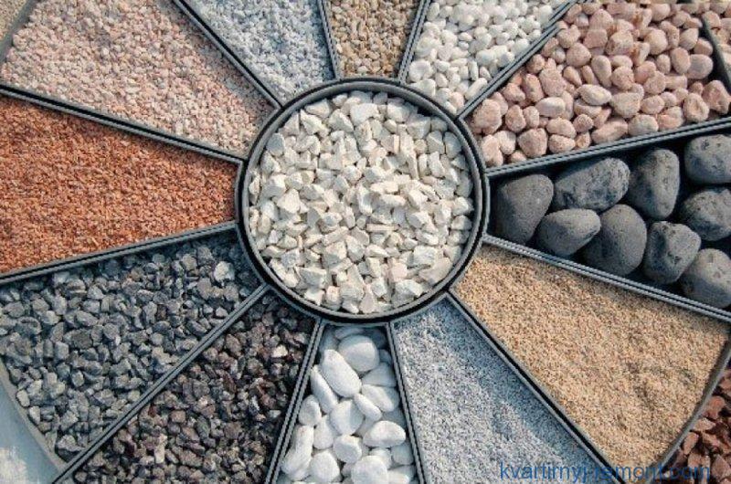 Стандартные размеры камня