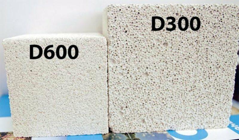 Внешний вид пористости бетона
