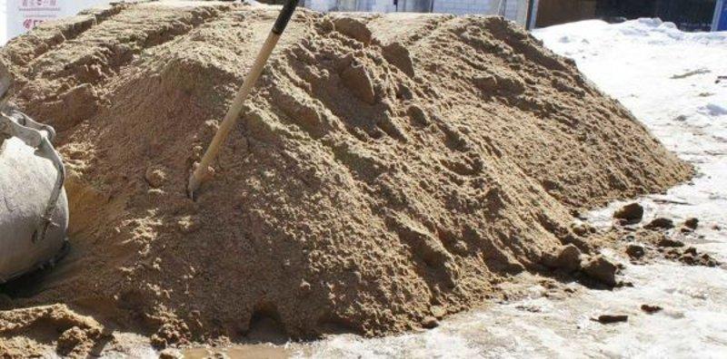 Какой брать песок