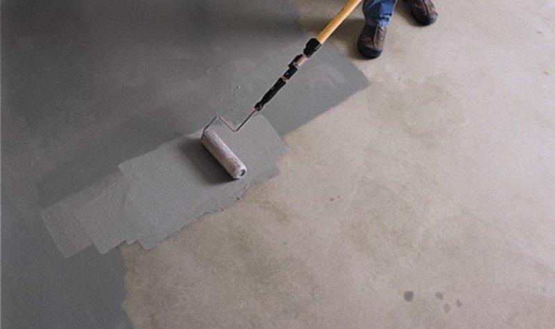 Краска по бетону для наружных работ