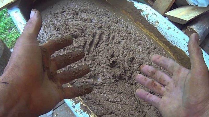 Как правильно развести цемент и песок