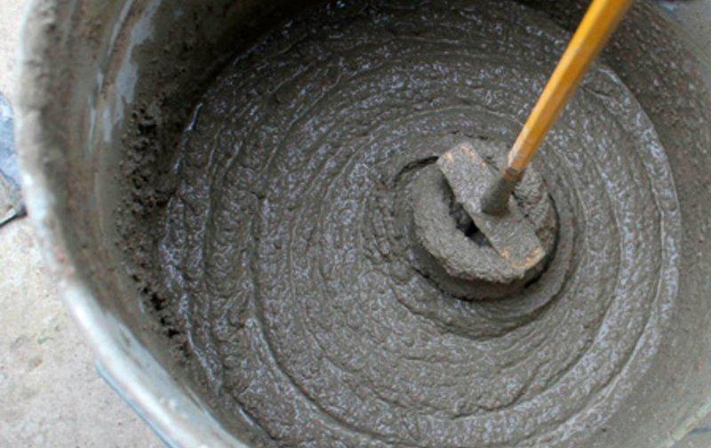 Виды цементных растворов