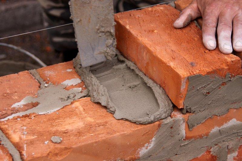 Пропорции цемента для кладки