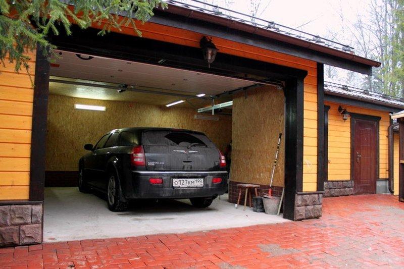 Заливка пола в гараже бетоном