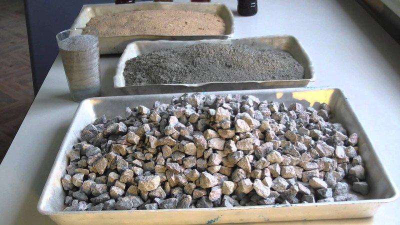 Ингредиенты бетона