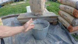 Сколько ведер цемента в мешке (20, 25, 40 и 50 кг): хитрости по расчету
