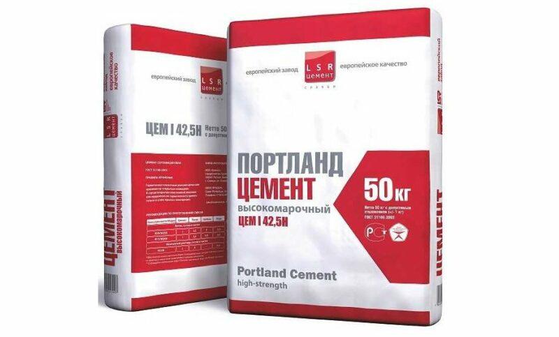 Сколько литров в мешке цемента 50 кг