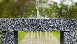 Бетон для садовой дорожки, который пропускает воду как сито