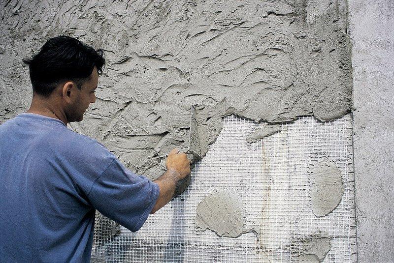 Цементный раствор для отделочных работ