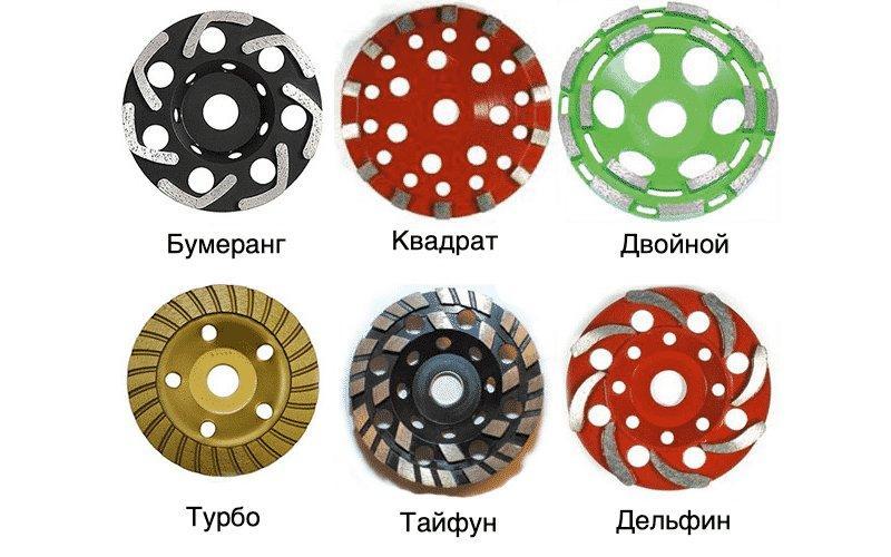 Как выбрать алмазную чашку по бетону: для болгарки