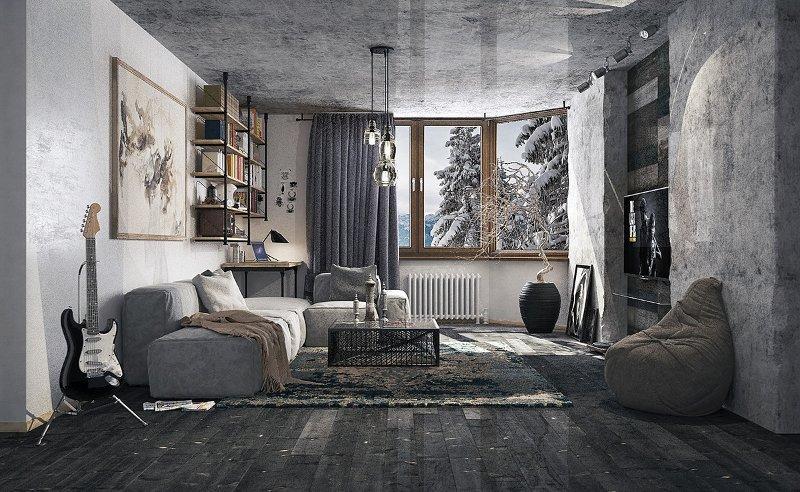 Интерьер жилых комнат