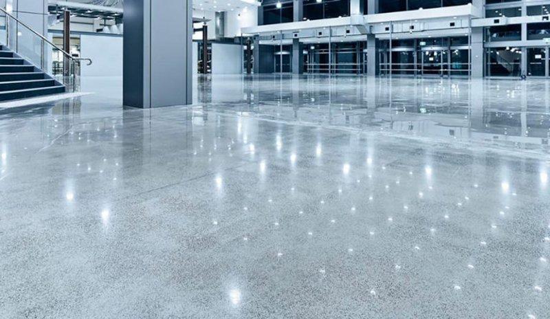 Применение шлифованного бетона