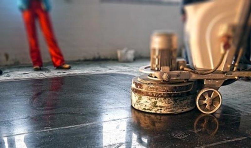 Технология изготовления шлифованного бетонного пола