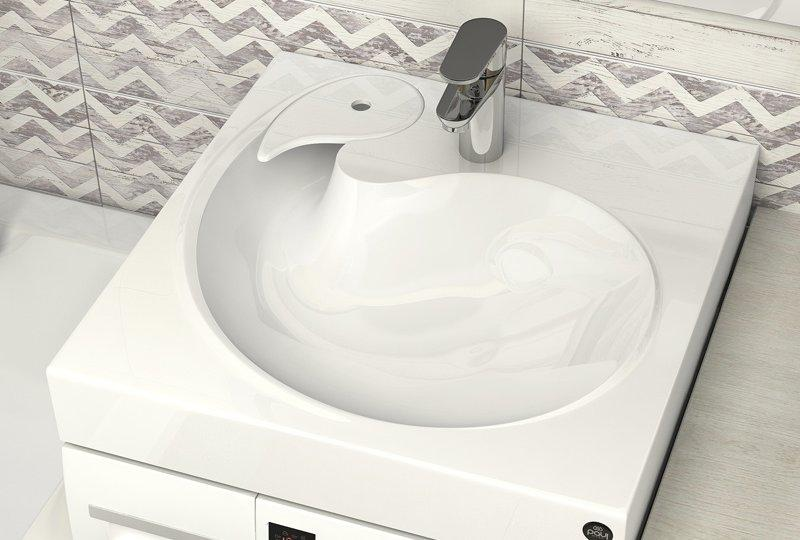 Раковина на стиральную машину - как выбрать?