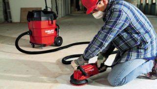Как выбрать шлифовальную машинку по бетону