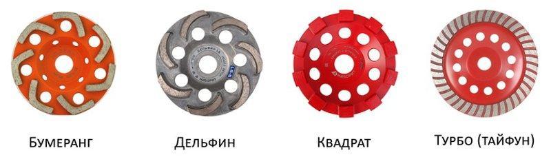 Алмазные диски - чаши
