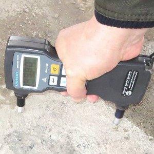 Прочность измеряют ультразвуковым прибором