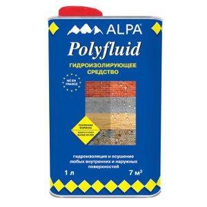 Alpa Polyfluid (Альпа Полифлюид) Гидроизолирующая пропитка