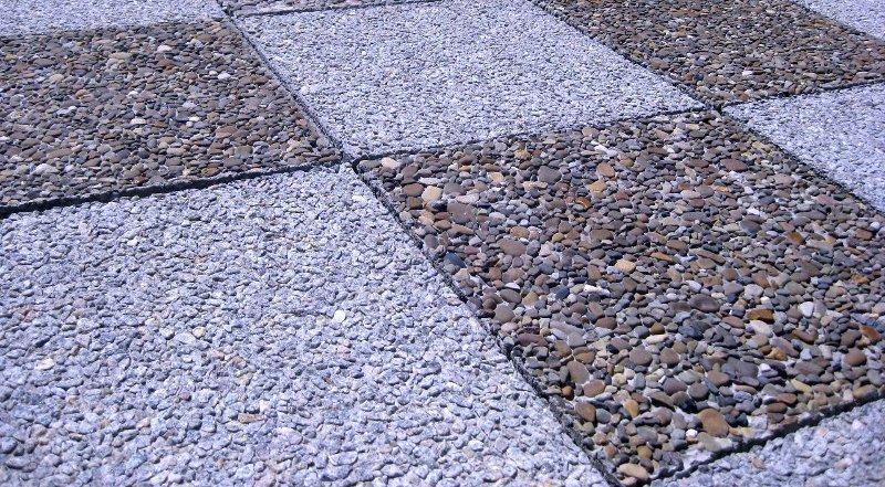 Технологии производства мытого бетона