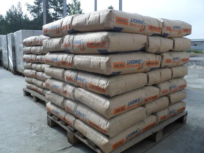 Как хранить цемент в мешках
