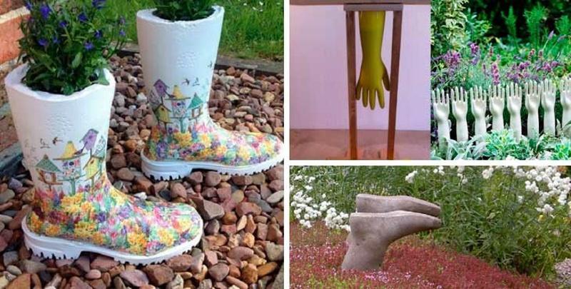 Ноги и руки из бетона