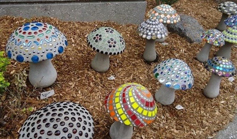 Декоративные грибы для сада