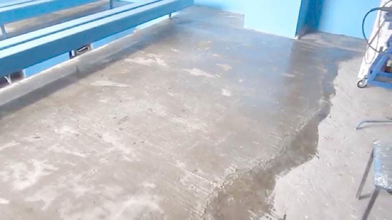 Покрытие бетона жидким стеклом